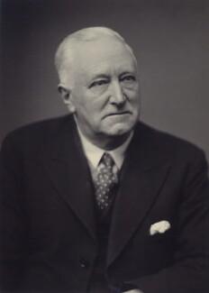 Sir Alfred William Clapham, by Walter Stoneman - NPG x166552