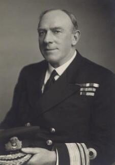 Sir Marshal Llewelyn Clarke, by Walter Stoneman - NPG x166574