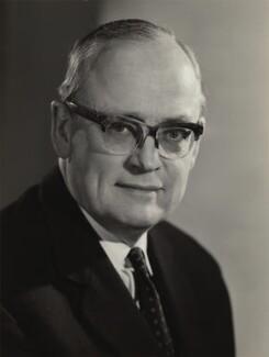 Sir Richard William Barnes Clarke, by Walter Bird - NPG x166577