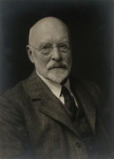 Sir George Clausen, by Walter Stoneman - NPG x166579
