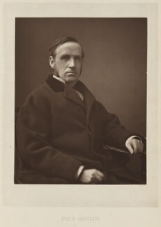 John Morley, 1st Viscount Morley of Blackburn, by Elliott & Fry, published by  Bickers & Son - NPG Ax27808