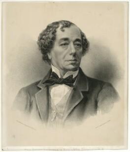 Benjamin Disraeli, Earl of Beaconsfield, by Maclure, Macdonald & Macgregor - NPG D21541