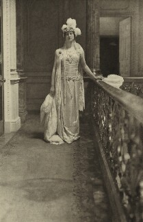 Margherita Scott-Ellis (née van Raalt), Lady Howard de Walden, by Cavendish Morton, mid 1910s - NPG  - © National Portrait Gallery, London