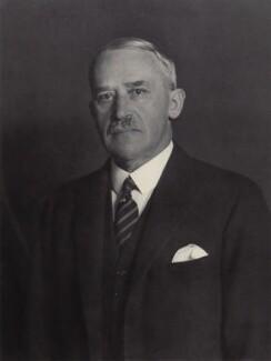 Sir (George) Christopher Clayton, by Walter Stoneman - NPG x166589
