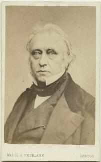 Thomas Babington Macaulay, Baron Macaulay, by Maull & Polyblank, April 1856 - NPG Ax7515 - © National Portrait Gallery, London