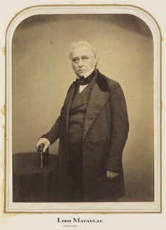 Thomas Babington Macaulay, Baron Macaulay, by Maull & Polyblank - NPG Ax7275
