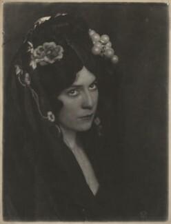 'Girl of Granada', by Cavendish Morton - NPG x128806
