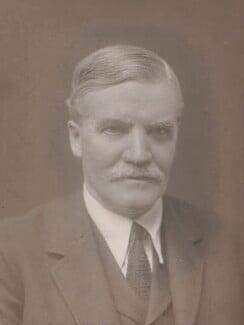 Sir Dugald Clerk, by Walter Stoneman - NPG x166599