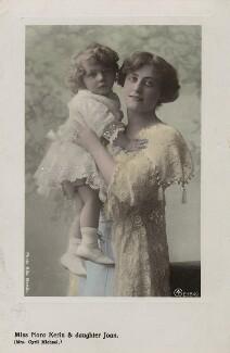 Nora Kerin with her daughter Joan, by Rita Martin - NPG x128828