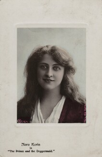 Nora Kerin in 'The Prince and the Beggarmaid', by Rita Martin - NPG x128830