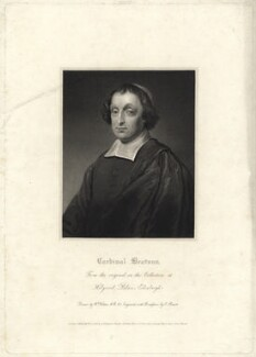 David Beaton (Beatoun), by Charles Picart, after  William Hilton, after  Unknown artist - NPG D23551