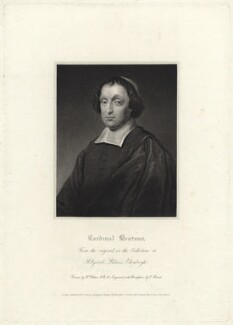 David Beaton (Beatoun), by Charles Picart, after  William Hilton, after  Unknown artist - NPG D23553
