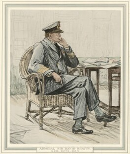 David Richard Beatty, 1st Earl Beatty, after Francis Dodd - NPG D23556