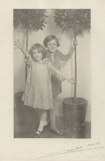 Anthea Rosemary Carew (née Gamble); Patrick Henry Noel Gamble, by Cavendish Morton - NPG x128813