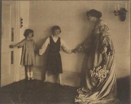 Anthea Rosemary Carew (née Gamble); Patrick Henry Noel Gamble; Helen Maud Gamble (née Isherwood), by Cavendish Morton - NPG x128816