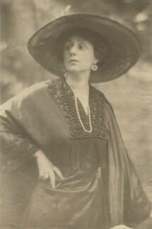 Helen Maud Gamble (née Isherwood), by Cavendish Morton - NPG x128817