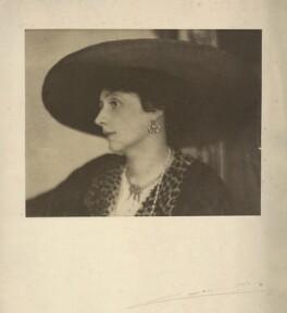 Helen Maud Gamble (née Isherwood), by Cavendish Morton - NPG x128818