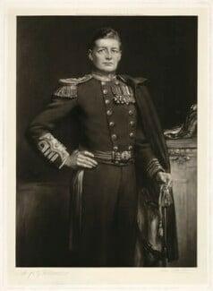 David Richard Beatty, 1st Earl Beatty, by John Cother Webb, after  Hugh Goldwin Riviere - NPG D23559