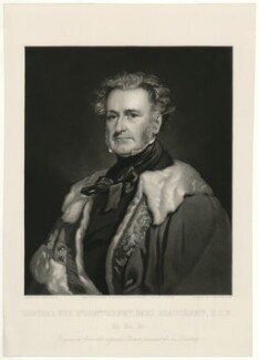 Henry Beauchamp Lygon, 4th Earl Beauchamp, by Frederick Stacpoole, after  Sir Francis Grant - NPG D23561
