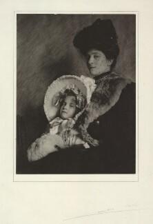 Audrey Joyce Lucia Stamp; Alice Maud Stamp (née Hunt), by Cavendish Morton - NPG x128823