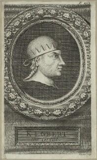 King Egbert, by George Vertue - NPG D23568