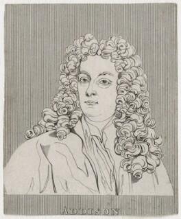 Joseph Addison, after Sir Godfrey Kneller, Bt - NPG D31567