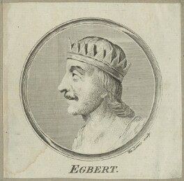 Egbert, King of the West Saxons, First Monarch of all England, by Wa. Lewis - NPG D23569