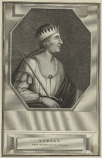 Egbert, King of the West Saxons, First Monarch of all England, after Unknown artist - NPG D23571
