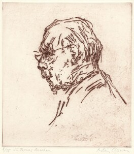 Sir Thomas Beecham, 2nd Bt, by Milein Cosman - NPG D31568