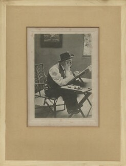 Alphonse Legros, by Unknown photographer, circa 1899 - NPG x87224 - © National Portrait Gallery, London