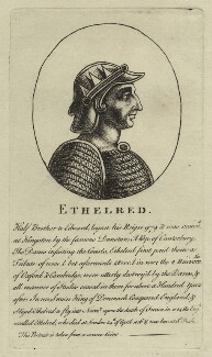 Ethelred, King of England, after Unknown artist - NPG D23574