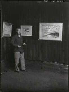 Sir Peter Markham Scott, by Bassano Ltd - NPG x30924