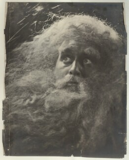 Cavendish Morton as King Lear, by Cavendish Morton - NPG x128825