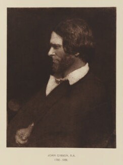 John Gibson, after David Octavius Hill, and  Robert Adamson - NPG Ax29537