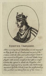 King Edmund ('Ironside'), after Unknown artist - NPG D23586