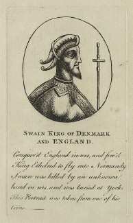 Swain, King of Denmark and England, after Unknown artist - NPG D23587