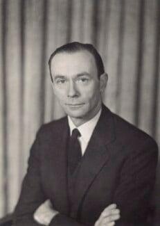 Sir William Menzies Coldstream, by Walter Stoneman - NPG x166654