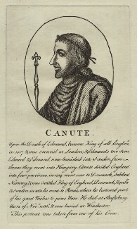 Canute, King of England, Denmark and Norway, after Unknown artist - NPG D23590