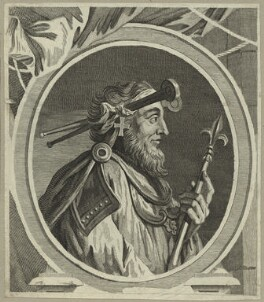 Canute, King of England, Denmark and Norway, after Unknown artist - NPG D23592