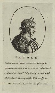 King Harold I, after Unknown artist - NPG D23594