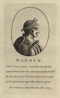 King Harold I, after Unknown artist - NPG D23595