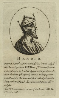 King Harold II, after Unknown artist - NPG D23600