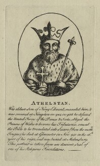 King Athelstan ('the Glorious'), after Unknown artist - NPG D23605