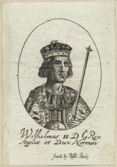 King William II ('Rufus'), possibly by William Faithorne - NPG D23611