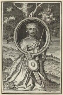King William II ('Rufus'), by George Vertue, 1732 - NPG D23613 - © National Portrait Gallery, London