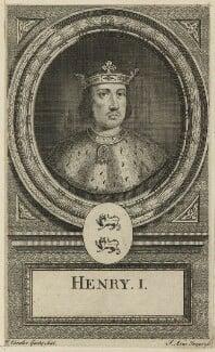 King Henry I, by John Vandergucht, early 18th century - NPG D23616 - © National Portrait Gallery, London