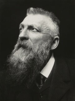 Auguste Rodin, by George Charles Beresford - NPG x6573