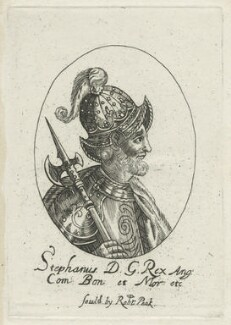 King Stephen, possibly by William Faithorne - NPG D23625
