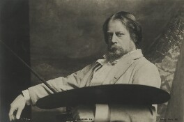 Sir William Blake Richmond, published by Rotary Photographic Co Ltd - NPG x38993