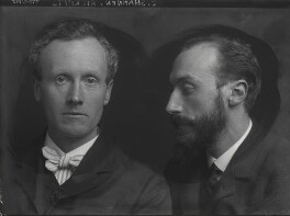 Charles Haslewood Shannon; Charles de Sousy Ricketts, by George Charles Beresford, 13 October 1903 - NPG  - © National Portrait Gallery, London